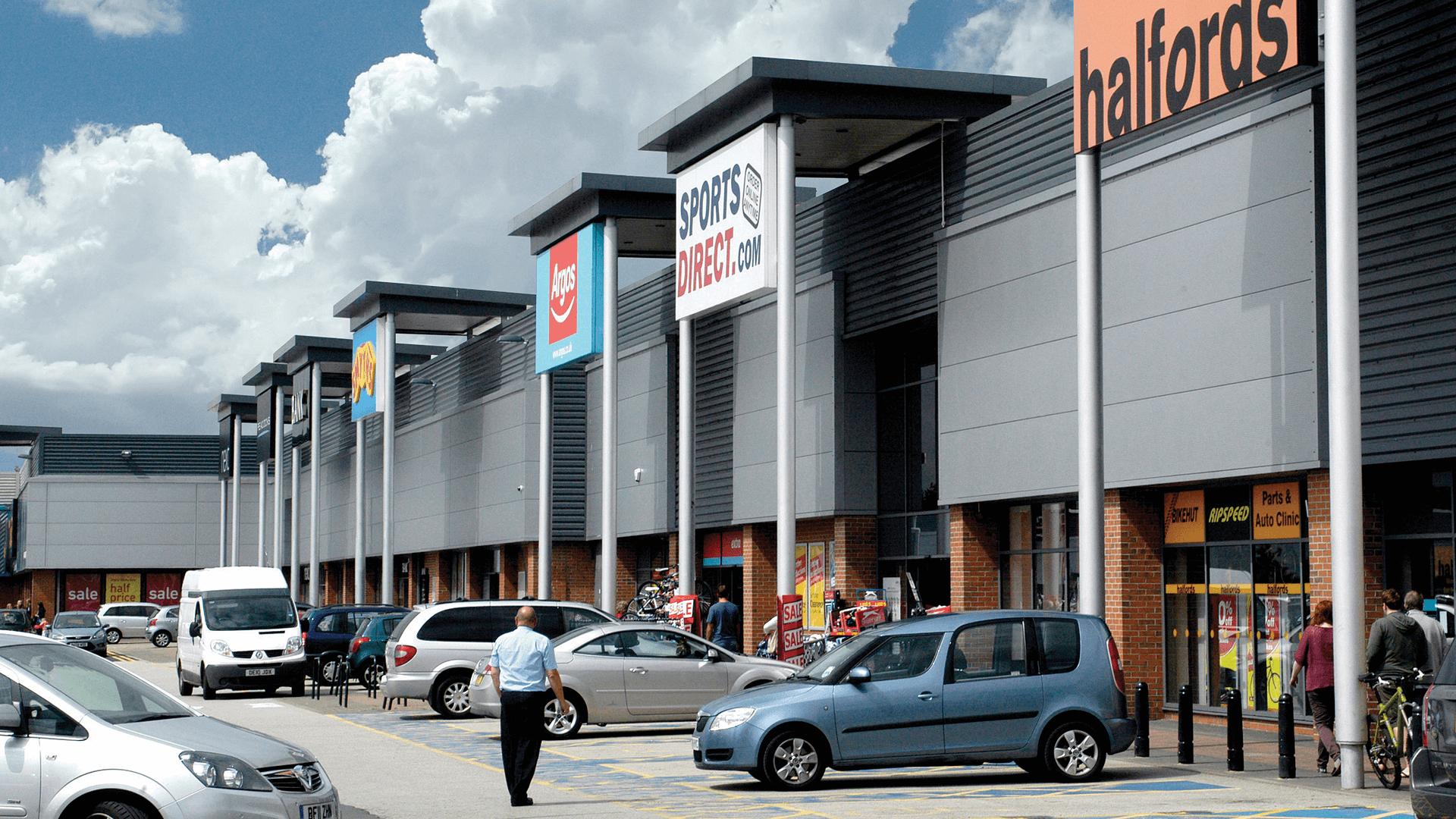 Croft Retail and Leisure Park, Bromborough