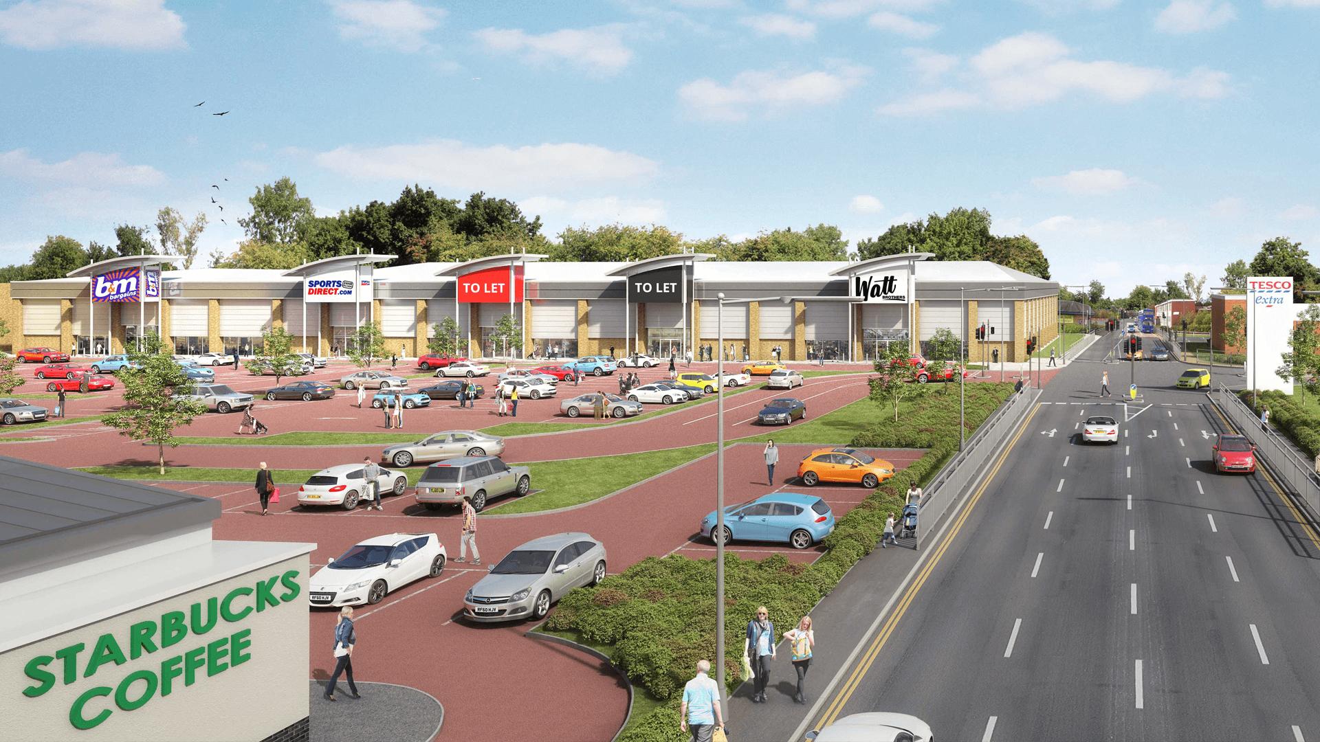 Glencairn Retail Park, Kilmarnock