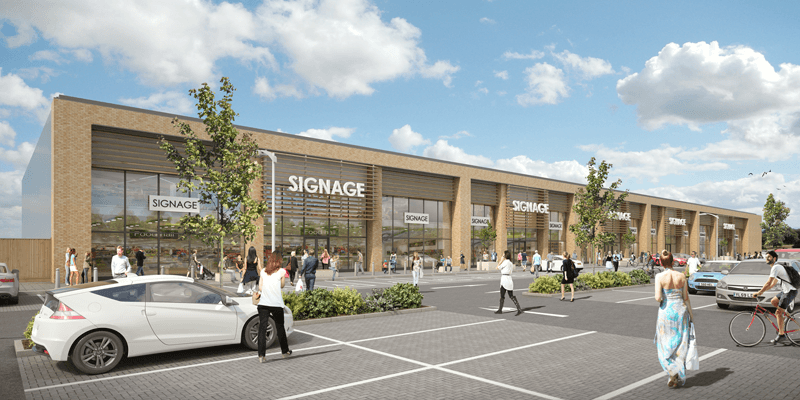 Portfolio - New Retail Park, Canvey Island