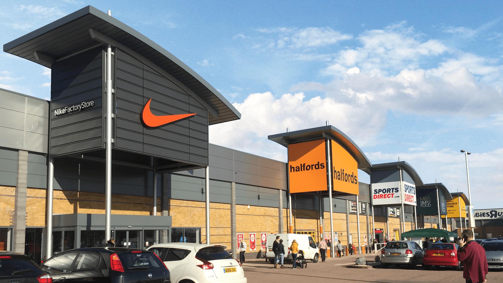 Enfield Retail Park, North London