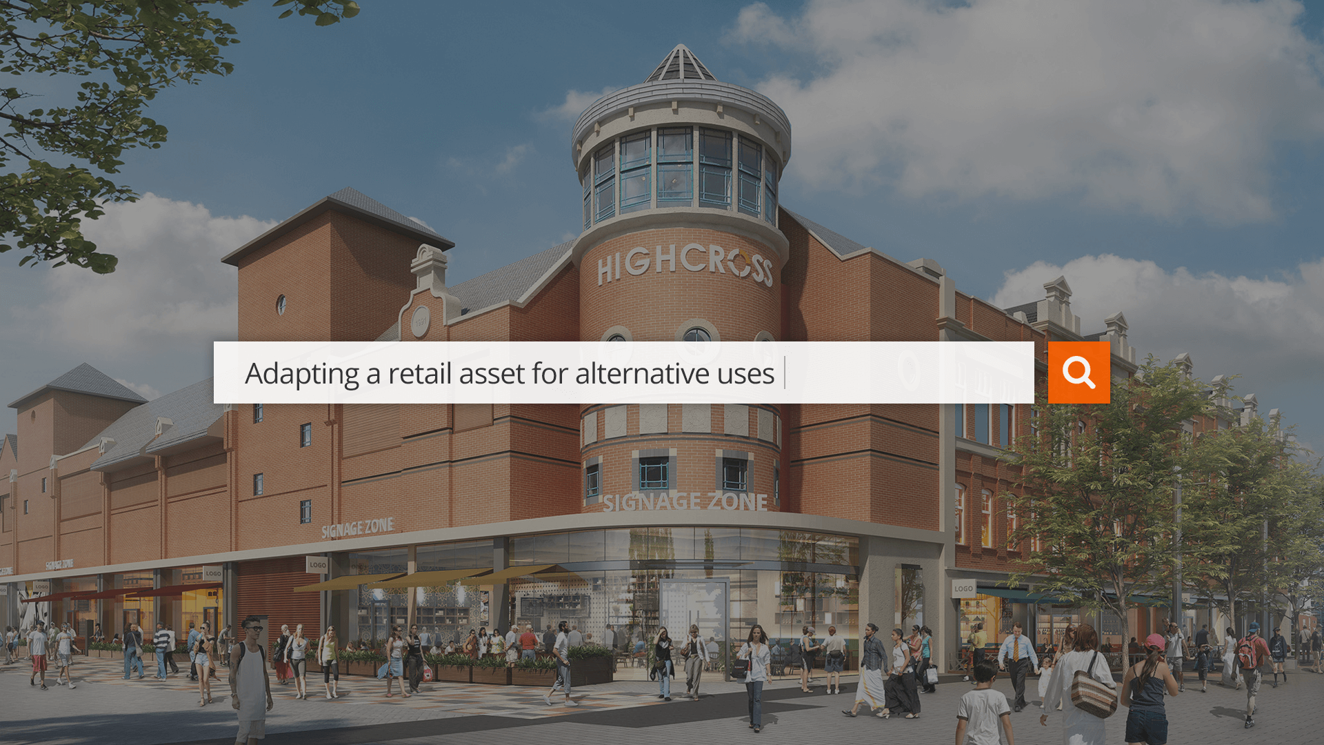 Highcross, Leicester - Repurposing the High Street