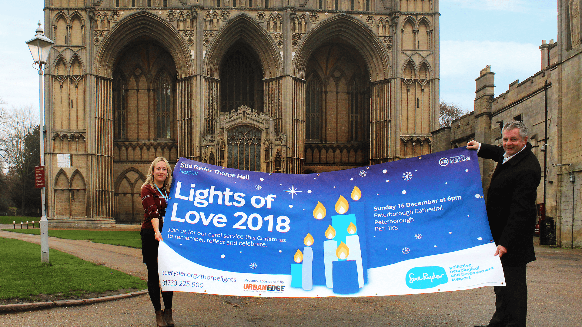Sue Ryder Thorpe Hall Hospice - Lights of Love 2018