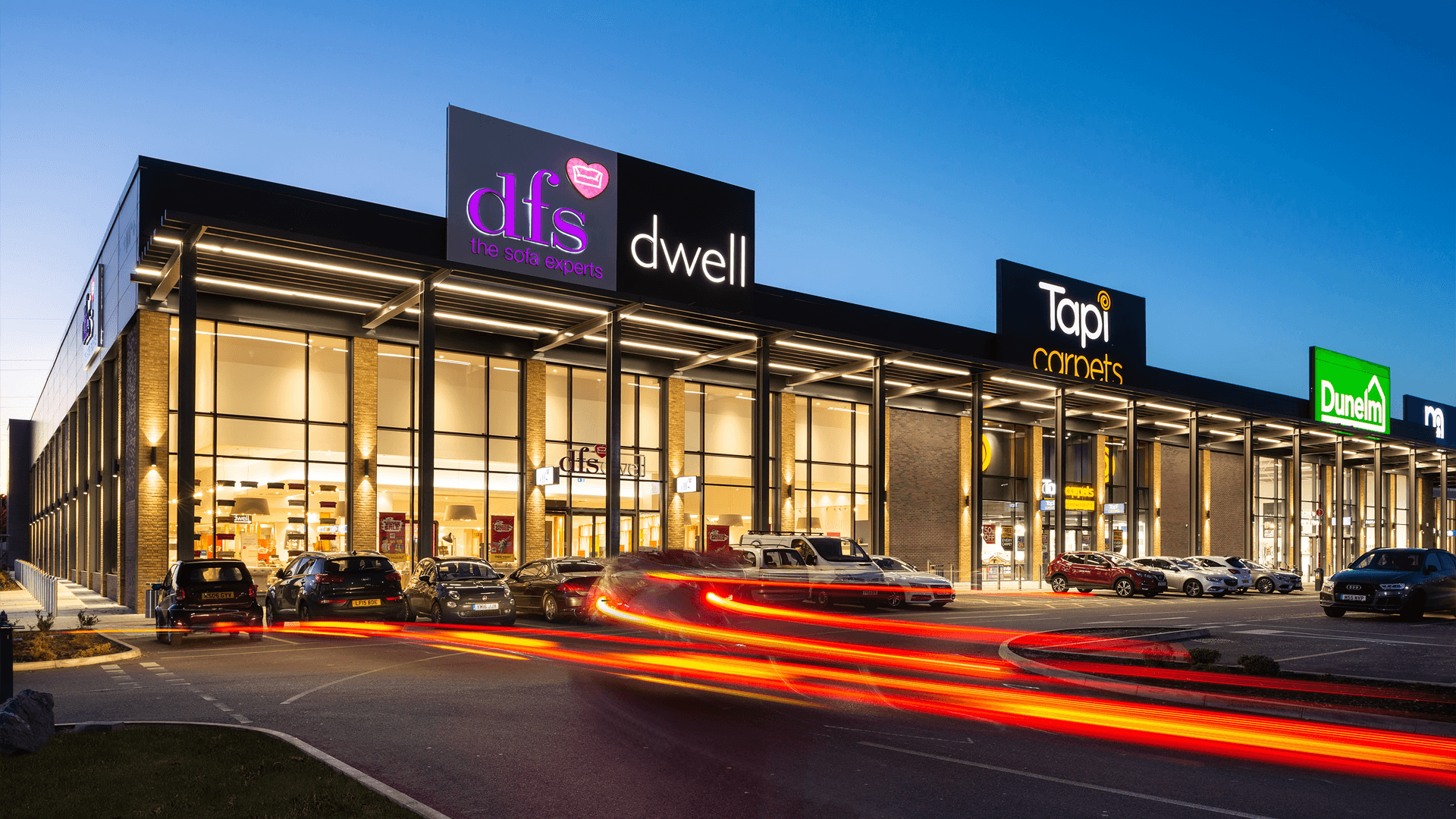 Architectural - Valley Retail & Leisure Park, Croydon