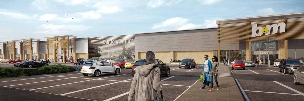 Portfolio - Breckland Retail Park, Thetford