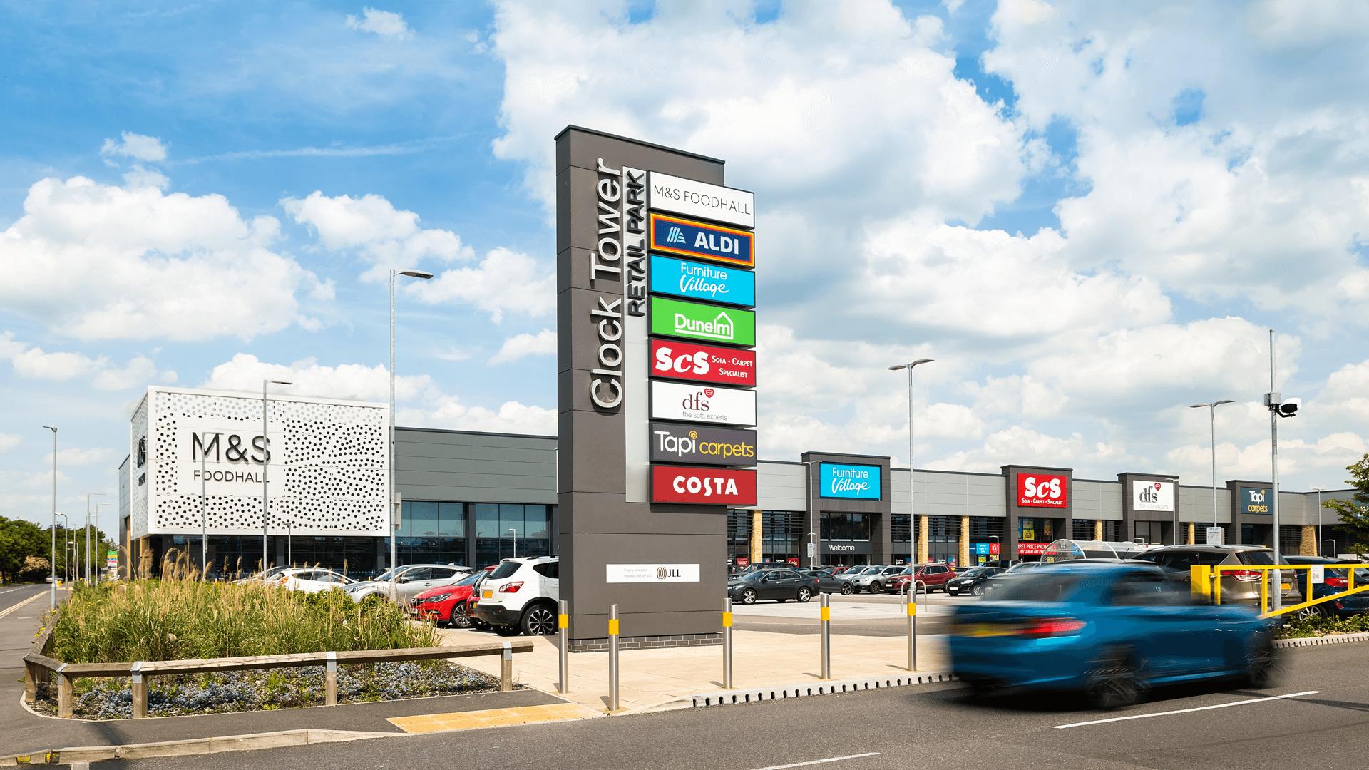 Clock Tower Retail Park, Chelmsford
