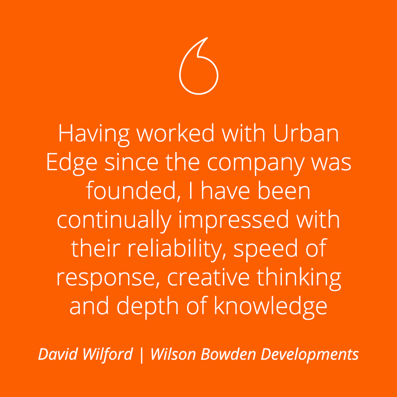 Wilson Bowden Developments - Testimonial
