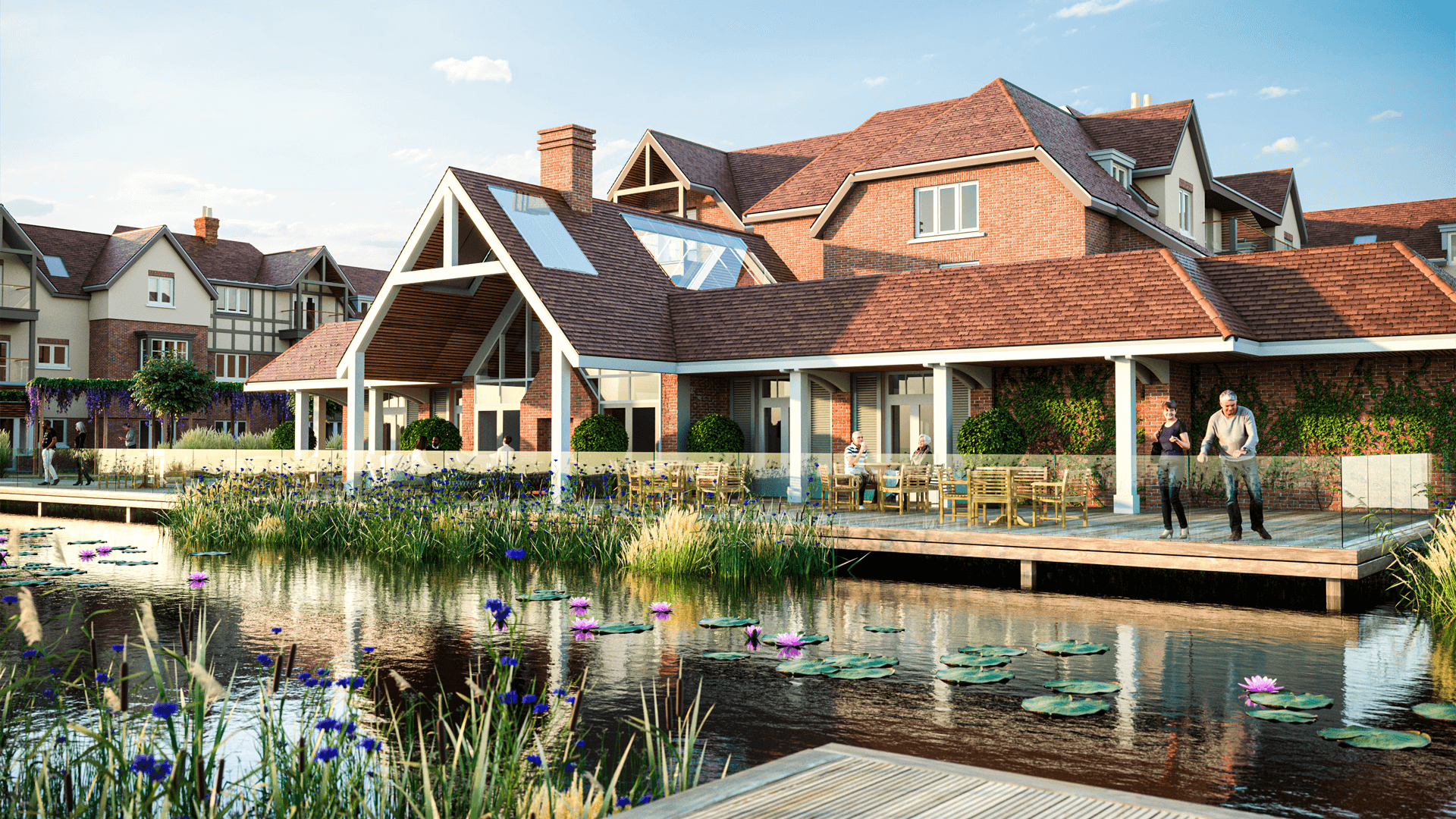 Architectural - Caddington Retirement Community, Bedfordshire