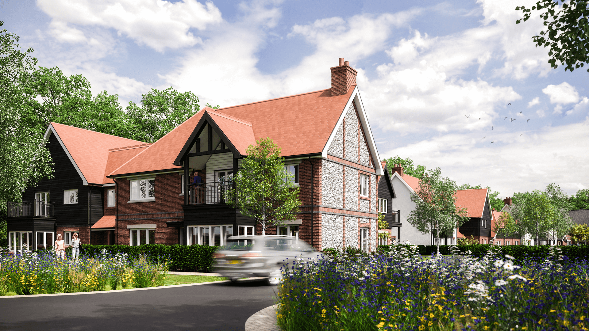Architectural - Sonning Common Retirement Community, Oxfordshire